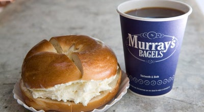 Photo of American Restaurant Murray's Bagels at 500 Avenue Of The Americas, New York, NY 10011, United States
