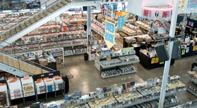 Photo of Music Store Amoeba Music at 6400 W Sunset Blvd, Los Angeles, CA 90028, United States