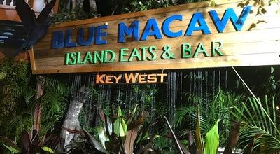 Photo of American Restaurant Blue Macaw Island Eats & Bar at 804 Whitehead St, Key West, FL 33040, United States