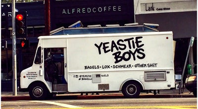 Photo of Food Truck Yeastie Boys Bagels at 4334 W Sunset Blvd, Los Angeles, CA 90029, United States