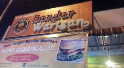 Photo of Burger Joint Burger Bandar Warisan at Jalan Manecksha, Taiping, Malaysia