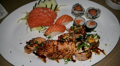 Photo of Sushi Restaurant Temakeria D'Oeste at Rua Coronel Magno, 247, Barreiras 47800-121, Brazil