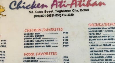 Photo of BBQ Joint Chicken Ati-atihan at Tagbilaran City, Central Visayas, Philippines