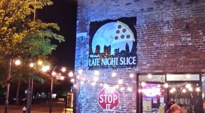 Photo of Pizza Place The Original Mikey's Late Night Slice at 1030 N. High St., Columbus, OH 43201, United States