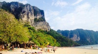 Photo of Beach หาดอ่าวนาง (Ao Nang Beach) at Ao Nang 81000, Thailand