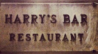 Photo of Italian Restaurant Harry's Bar at 22r Lungarno Amerigo Vespucci, Florence, Italy