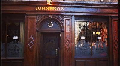 Photo of Pub The John Snow at 39 Broadwick St, Soho W1F 9QP, United Kingdom