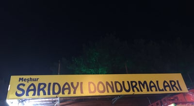 Photo of Ice Cream Shop Sarıdayı Dondurmacısı at Turkey