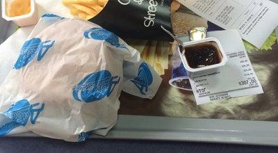 Photo of Burger Joint Мегабургер at Улица Соборная, Гатчина, Ленинградская Область, Russia