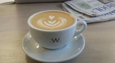 Photo of Coffee Shop White Label Coffee at Jan Evertsenstraat 136, Amsterdam 1056EK, Netherlands