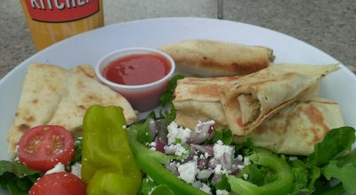 Photo of Mediterranean Restaurant Zoës Kitchen at 10920 Haynes Bridge Rd, Alpharetta, GA 30022, United States