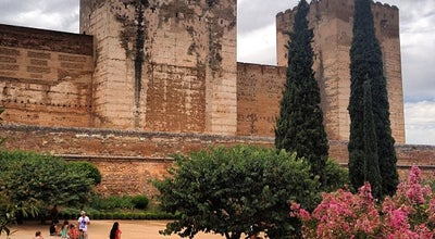 Photo of Historic Site Alcazaba at Alhambra, Granada, Spain