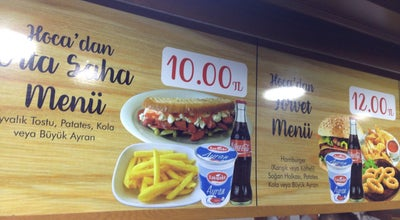 Photo of Burger Joint MEHMET HOCANİN YERİ HAMMBURGER CAFE at Turkey