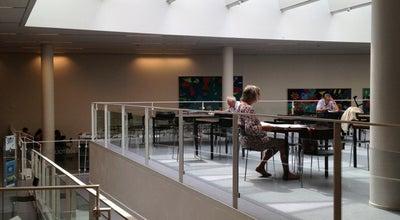 Photo of Library Frederiksberg Hovedbibliotek at Falkoner Plads 3, Frederiksberg 2000, Denmark