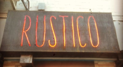 Photo of French Restaurant Rustico at 135 1st Ave, New York, NY 10003, United States