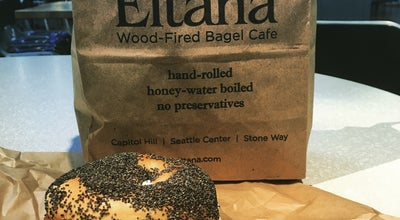 Photo of Bagel Shop Eltana Wood-Fired Bagel Cafe at 305 Harrison St, Seattle, WA 98109, United States