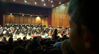 Photo of Concert Hall Македонска Филхармонија at Македонија, Скопје 1000, Macedonia