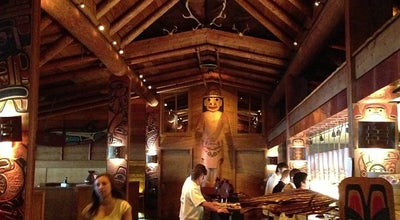 Photo of Seafood Restaurant Ivar's Salmon House at 401 Ne Northlake Way, Seattle, WA 98105, United States
