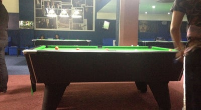 Photo of Pool Hall Facebook Café & Billiards at Angle 2mars Et De Rue Abou Alaa Zahar, Casablanca, Morocco