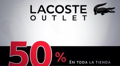 Photo of Boutique Lacoste Outlet at Premium Outlets Punta Norte, Cuautitlán Izcalli, Mexico