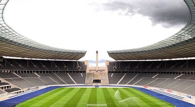 Photo of Soccer Stadium Olympiastadion at Olympischer Platz 3, Berlin 14053, Germany