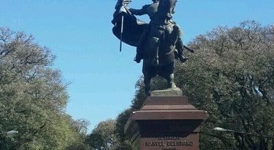 Photo of Arts and Entertainment Monumento al General Manuel Belgrano at Parque De La Independencia, Rosario 2000, Argentina