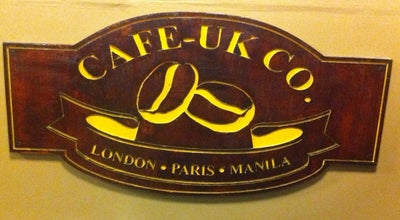 Photo of Coffee Shop Cafe-UK Co. at 1233 J. Barlin St, Sampaloc, Manila 1008, Philippines