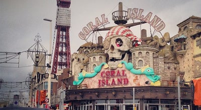 Photo of Arcade Coral Island at Promenade, Blackpool FY1 5BD, United Kingdom