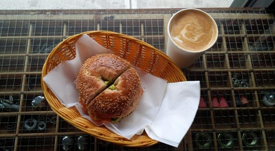 Photo of Bagel Shop Lula Bagel at 816 Nostrand Ave, Brooklyn, NY 11216, United States