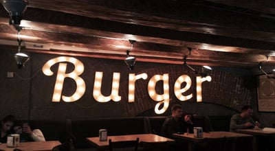 Photo of Burger Joint Blackwood Coffee Burger at Пл. Ринок, 42, Lviv 79000, Ukraine