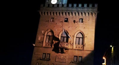 Photo of Historic Site Palazzo del Podesta at Piazza Cavour, Rimini, Italy