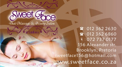 Photo of Spa Sweet Face Thai Massage and Beauty Salon at 156 Alexander Street, Brooklyn, Pretoria 0181, South Africa