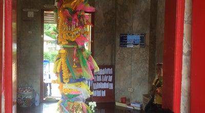 Photo of Monument / Landmark ศาลหลักเมืองจังหวัดสมุทรสงคราม at Thailand