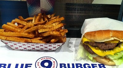 Photo of American Restaurant Blue 9 Burger at 92 3rd Ave, New York, NY 10003, United States