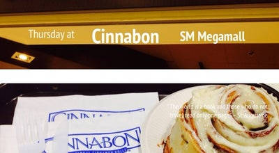 Photo of Bakery Cinnabon Megamall at Sm Mega Fashion Hall, Philippines