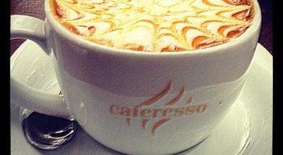 Photo of Cafe Caferesso at Bahçelievler Mah. Naci Kasım Cad. Baran Sitesi A-1 Blok No:33/c, İstanbul 34180, Turkey