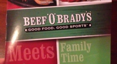 Photo of American Restaurant Beef 'O' Brady's at 1100 Tarpon Woods Blvd, Palm Harbor, FL 34685, United States