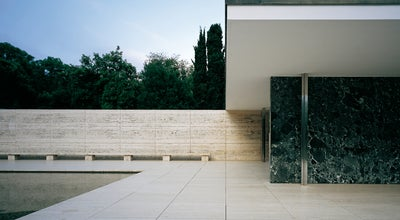 Photo of Monument / Landmark Mies van der Rohe Pavilion at Av. Francesc Ferrer I Guàrdia, 7, Barcelona 08038, Spain