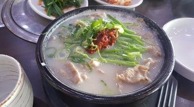 Photo of Korean Restaurant 토박이밀양돼지국밥 at 기흥구 중부대로 313, 용인시, South Korea