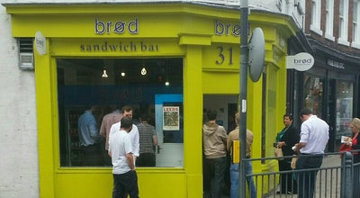 Photo of Sandwich Place Brod at 31 Great George Street, Leeds LS1 3BB, United Kingdom