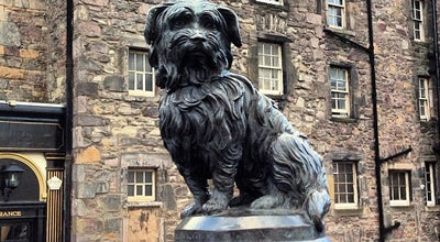 Photo of Outdoor Sculpture Greyfriars Bobby's Statue at Candlemaker Row, Edinburgh EH1 2QE, United Kingdom