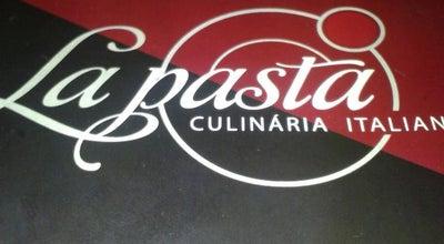 Photo of Italian Restaurant La Pasta Culinária Italiana at R. Onofre Da Cunha Rezende, 220, Uberaba 38020-130, Brazil