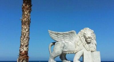 Photo of Beach Larnaca Beach at Larnaca, Cyprus