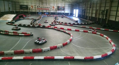 Photo of Go Kart Track Daytona Indoor Karting at Wharfside Way, Manchester M17 1NF, United Kingdom