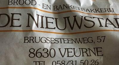 Photo of Bakery Bakkerij Nieuwstad at Brugsesteenweg 57, Veurne 8630, Belgium
