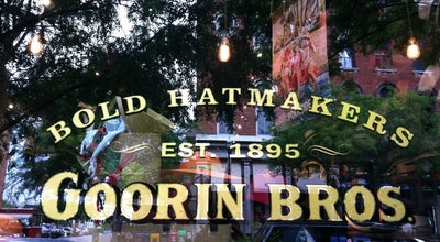 Photo of Boutique Goorin Brothers Hat Shop - The District at 107 2nd Ave N., Nashville, Tn 37201, Nashville, TN 37201, United States
