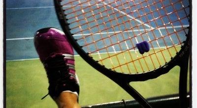 Photo of Tennis Court Condomínio Ocean Park-quadra de tênis at Riviera de São Lourenço-Bertio, Brazil