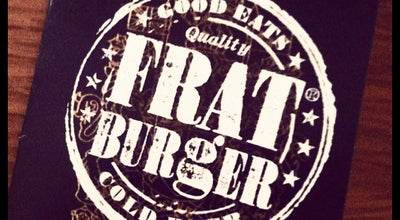 Photo of Burger Joint Frat Burger at 247 University Ave W, Waterloo, ON N2J 4V2, Canada