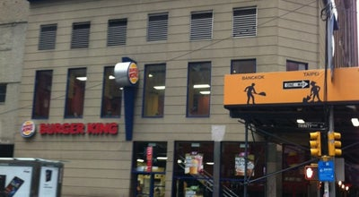 Photo of Fast Food Restaurant Burger King at 106 Liberty St, New York, NY 10006, United States
