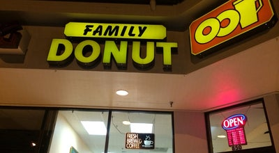 Photo of Donut Shop Family Donut at 196, Lynnwood, WA 98036, United States